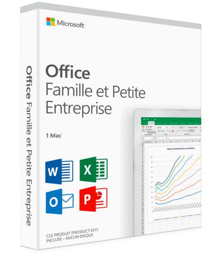 Office 2016 Famille et Petite Entreprise (MAC)