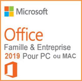 Microsoft Office 2019 Famille et Petite Entreprise (PC)